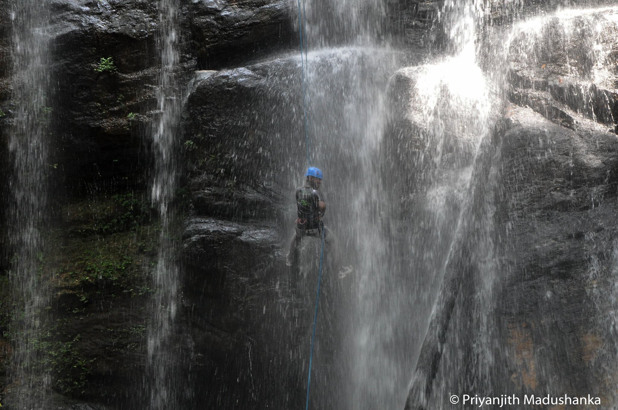 Waterfall Abseiling with Climb Lanka